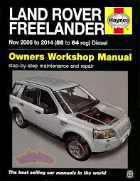 lr2 shop manual service repair land rover book lr 2 freelander