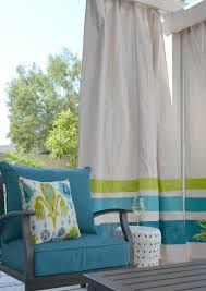 How To Make Curtains Out Of Drop Cloths Diy These Easy Drop Cloth Outdoor Curtains For Under 50
