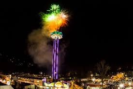 new years in tn gatlinburg new year s drop and fireworks show the smoky
