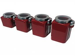 100 red kitchen canisters set 100 cute kitchen canisters 25