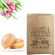 personalized donut boxes wedding donut bags st donut stand bags personalized