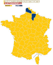 Presidential Election Map by 2017 French Presidential Election Results Map Electionarium