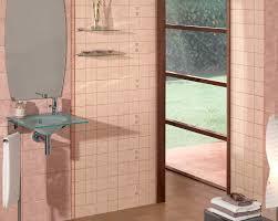 Pink Tile Bathroom Ideas Classic Cool Pink Tile Bathroom U2014 New Basement Ideas Super Cute