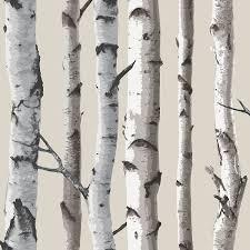 fine decor natural beige cream fd31051 birch tree forest fine decor natural beige cream fd31051 birch tree forest woods wallpaper amazon com