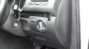 volkswagen models 2013 vw golf mk6 interior fuse box location 2008 to 2013 models youtube
