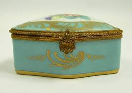161 best antique trinket boxes and jars images on