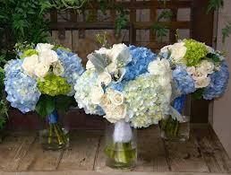 hydrangea wedding the gracious posse blue and white hydrangeas highlight a houston