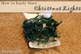 how to store christmas lights storing christmas lights the happy housewife home management