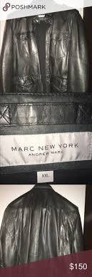 marc york andrew marc summit embossed jacket with detachable