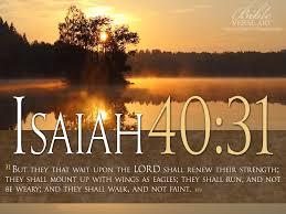 god loves leave 3 3 isaiah 40 31