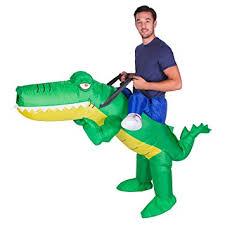 amazon com bodysocks inflatable crocodile piggyback blow up