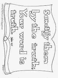 coloring pages for kids by mr adron your word is truth bible