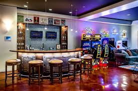 Video Game Room Decorations Cool Game Roomscool Video Game Room - Family game room decorating ideas