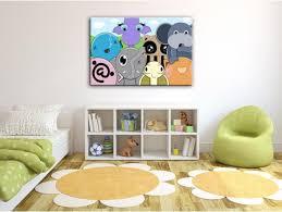 cadre pour chambre enfant tableau décoratif pour chambre d enfant thème déco
