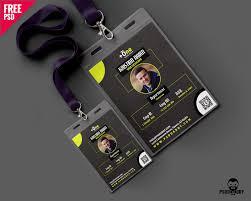 free creative office identity card free psd psddaddy com