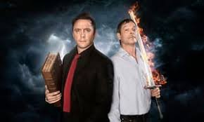 good omens by terry pratchett and neil gaiman fun with