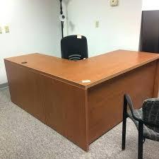 reclaimed wood l shaped desk wood l shaped desk l shaped wood desk image of honey office l shaped