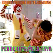 Ronald Mcdonald Phone Meme - ronald mcdonald slap meme surf
