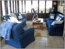 Denim Slipcover Sofa by Denim Sofas Covers Simple White Denim Slipcover For French Chair