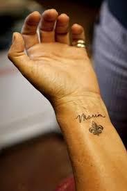 fleur de lis tattoo on wrist tattoos book 65 000 tattoos designs