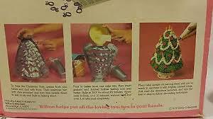 vintage wilton holiday cake 3d christmas tree pan mold no stand