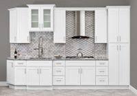 aspen white kitchen cabinets aspen white shaker ready to assemble kitchen cabinets kitchen