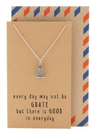 Best Gifts For Chefs Vana Kitchen Charm Necklace Funny Greeting Card Gift For Chefs
