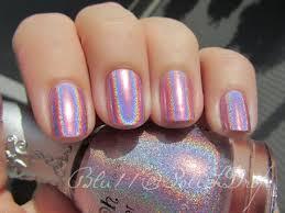 nfu oh 63 pink mauve holo holographic nail polish ebay