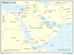 Middle East World Map by Map Of The Middle East Middle East U2014 Planetolog Com