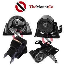 manual engine mount set 4 pcs to suit nissan x trail t30 01 07 2 5