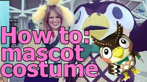 how to mascot costume cosplay class youtube