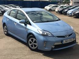 used toyota prius cars for sale motors co uk