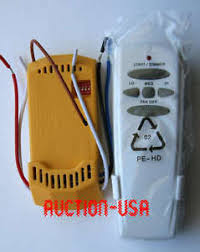 ceiling fan remote control kit hton bay hunter ceiling fan remote control kit for cfl led