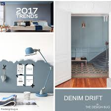 colours of the year 2017 dulux announce denim drift as colour for 2017 interiors