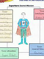 you u0027re a superhero free esl worksheets
