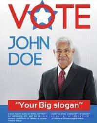 Vote Flyer Template election poster template photoshop free political caign flyer