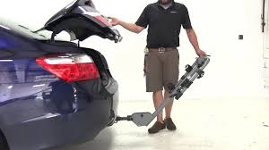 honda accord coupe bike rack review of the sportrack hitch bike racks on a 2013 honda accord