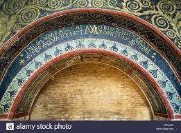 ravenna italy unesco world heritage site mosaic inscription