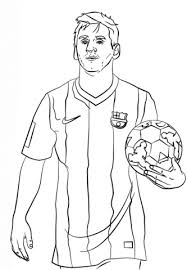 soccer coloring pages messi lawslore info