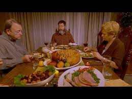 join nick offerman for thanksgiving dinner with his family and