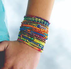 friendship bracelet images Diy friendship bracelets tie dye bracelets joann jpg
