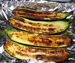 cuisiner des courgettes au four courgettes grillées au romarin station gourmande