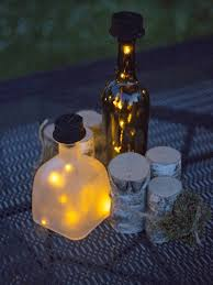Round Solar Lights by Solar Lantern Solar Bottle Lantern Kit Wine Bottle Lights