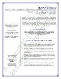 teachers resume exles esl resume sle