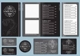 black menu templates download free vector art stock graphics