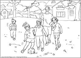activity village coloring pages wallpaper download