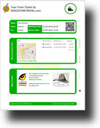 automate your travel tickets dox42 sample template