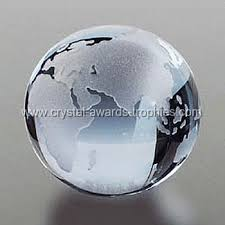 Personalized Paper Weight Gifts Crystal Globe Globe Trophy Globe Paperweights Globe Gifts Globe