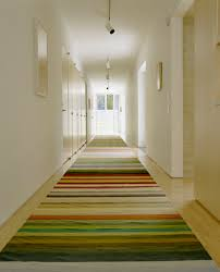 Modern Hallway Rugs Modern Spaces No Baseboard Design Pictures Remodel Decor And