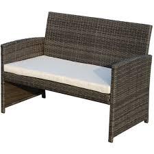 canap neuf pas cher ensemble salon de jardin 4 places canapé 2 fauteuils et table